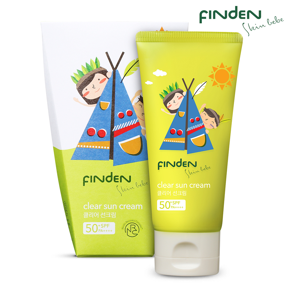 Image result for Finden Skinbebe Clear Sun Cream