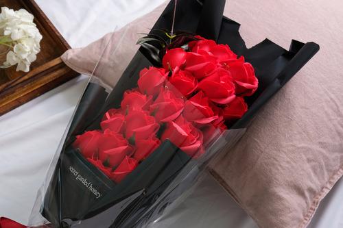 經典的愛香皂花束