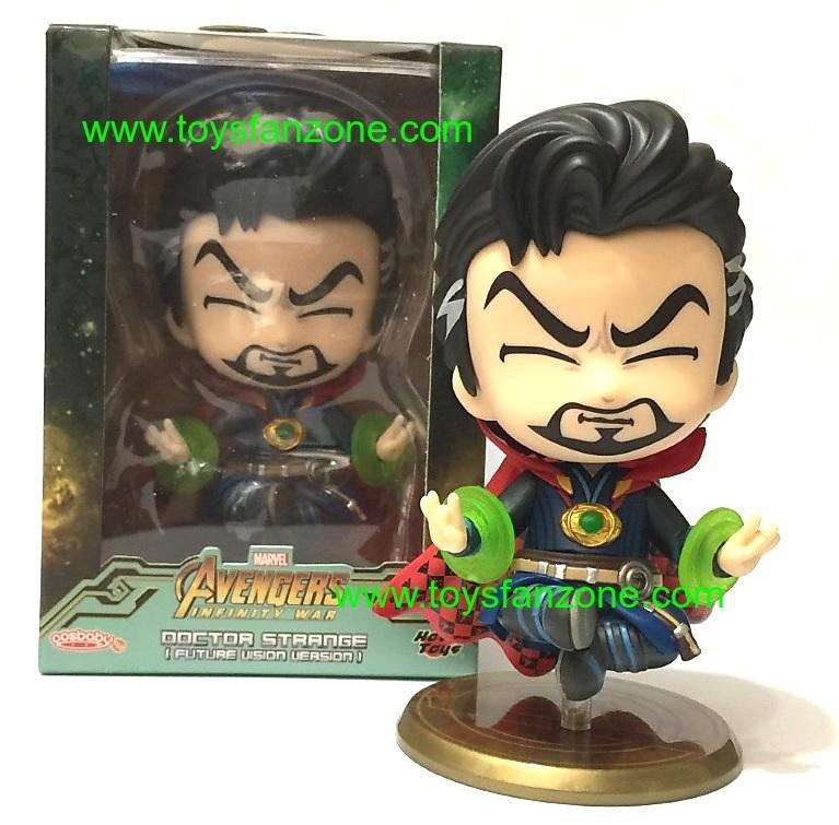 Hot Toys Cosbaby Avengers:Infinity War Doctor Strange Future Bobble-Head Figures
