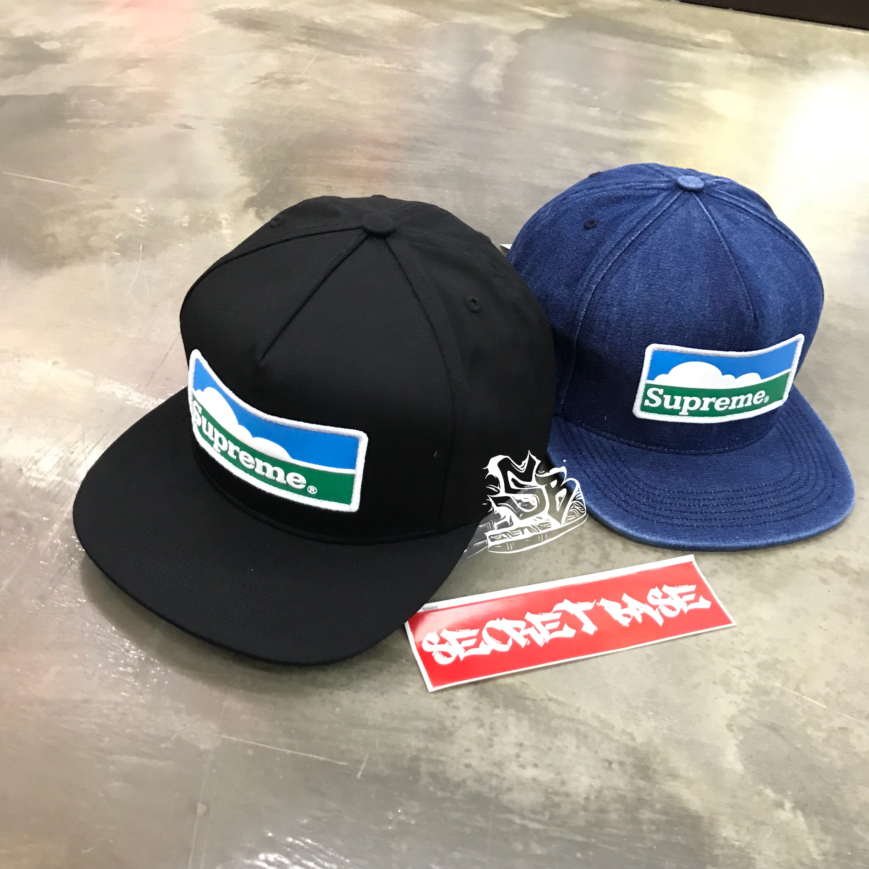 3382dd5e SUPREME Horizon 5-panel cap
