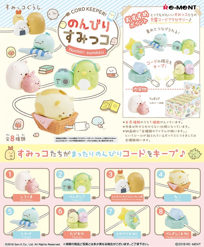 Re-Ment Miniature Japan Sumikko Gurashi Flower Delivery Set # 1 Shirokuma
