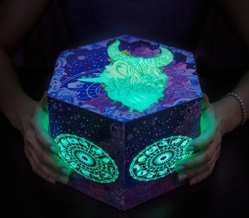 十二星座夜光爆炸禮物盒
