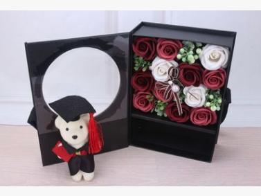 創意驚喜小熊花束禮盒