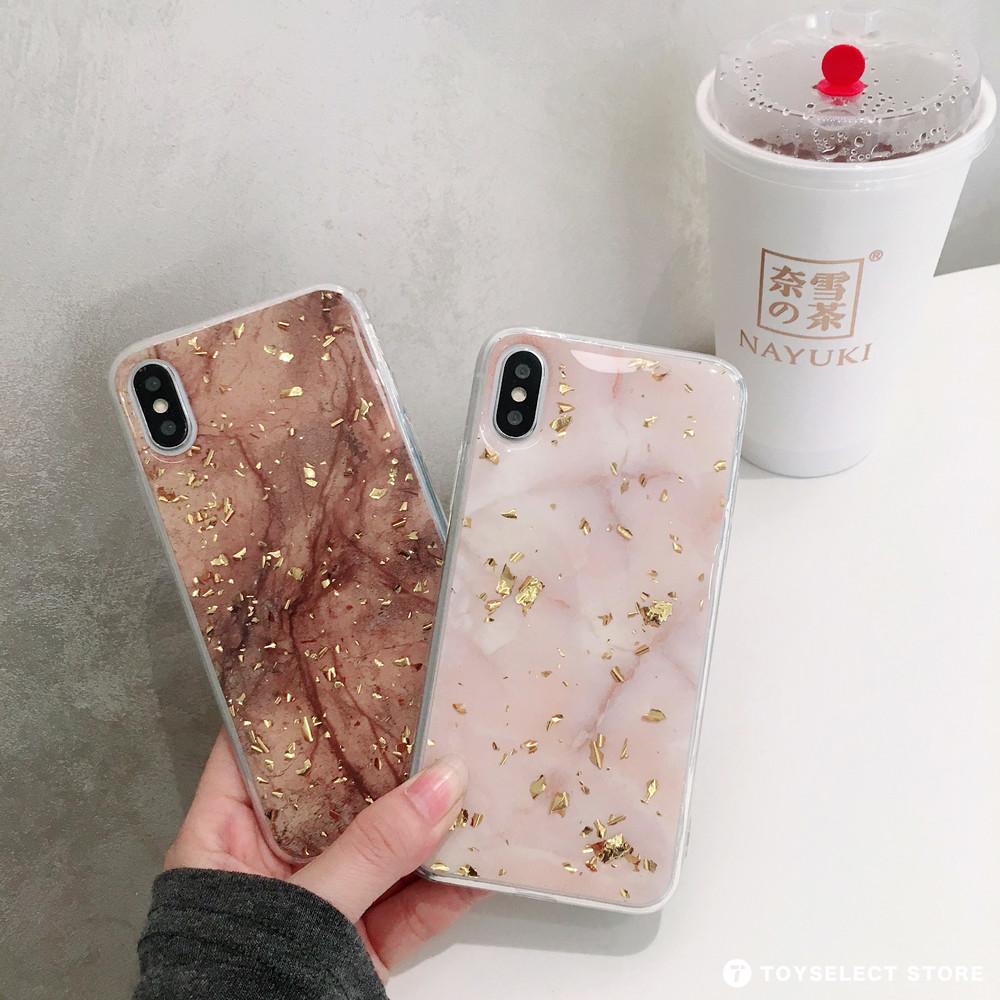 出清SALE【可掛脖】金箔大理石質感iPhone手機殼