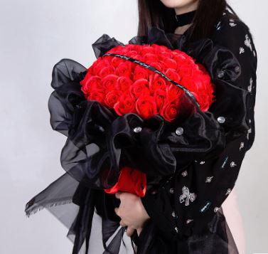 定情求婚玫瑰花束|52朵/99朵
