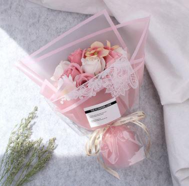 永恆幸福玫瑰香皂花束