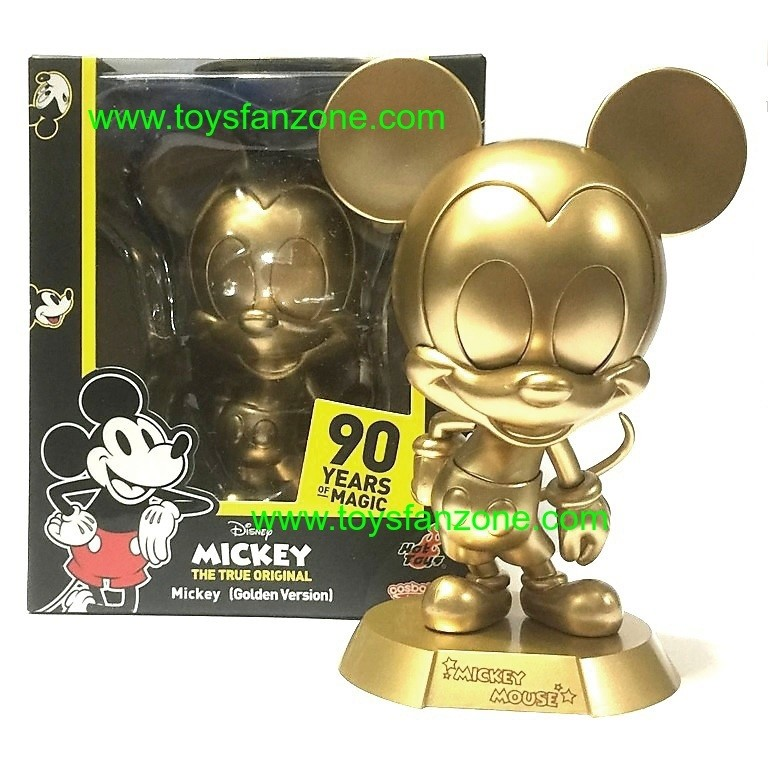 Cosbaby Golden Mickey Mouse 90th Mickey
