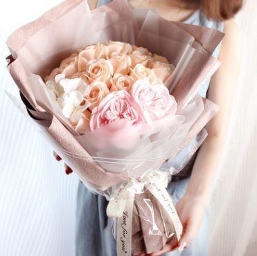 只為遇見你|玫瑰香皂花束