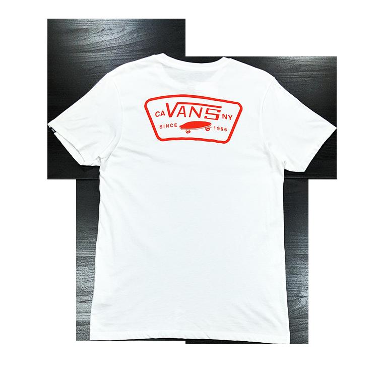 vans短袖_VANS背圖短袖T恤