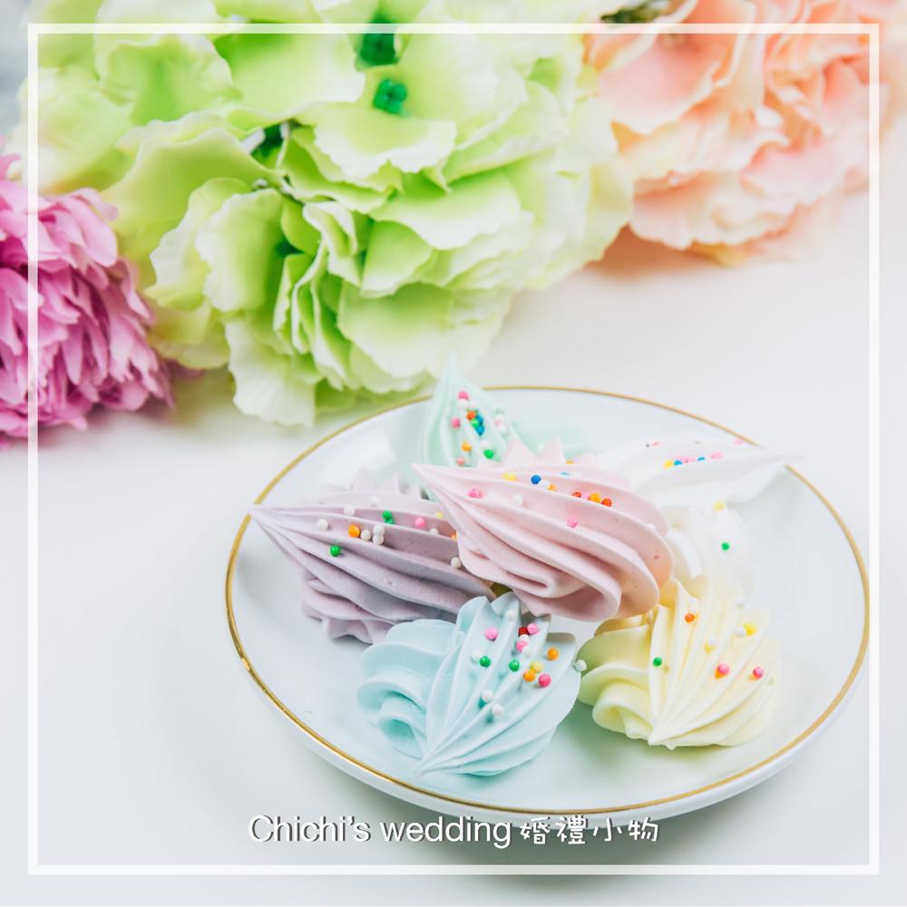 婚禮週邊-彩虹愛心馬林糖