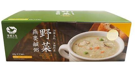 美好人生 野菜燕麥鹹粥 40g x 20包 *