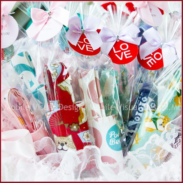 婚禮週邊-環保飲料杯套X50份(有包裝-隨機混合8款)+大提籃X1個(限宅配)