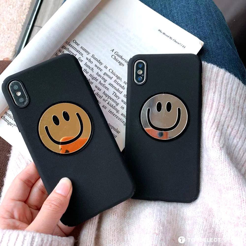 出清SALE【質感款】亮面笑臉iPhone手機殼