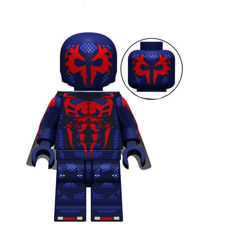 Custom Spider-Man 2099 Minifig Minifigure Fit Lego