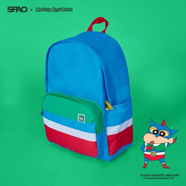 SPAO x Crayon Shinchan Cuckoo Backpack (Blue) SPAK922A0 3f5b472639bbb