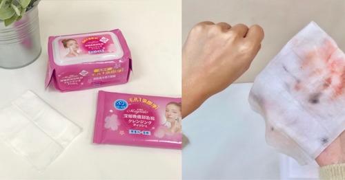 推薦美娜多深層喚膚卸妝棉超大張很方便實用