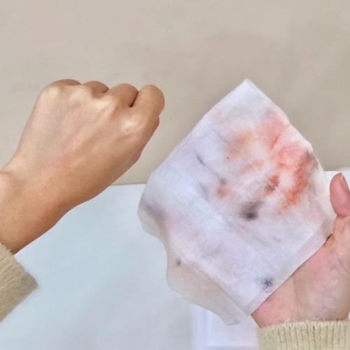 推薦美娜多深層喚膚卸妝棉真正的無酒精香精與香料減少過敏源