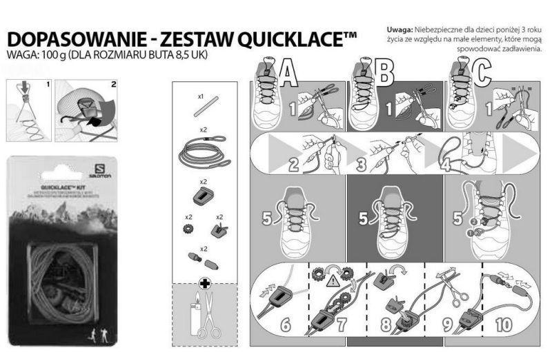 Salomon Quicklace Kit 326672