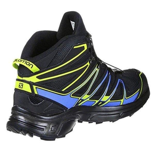 Salomon X Chase Mid GTX 391832 Men Black Blue Green Running