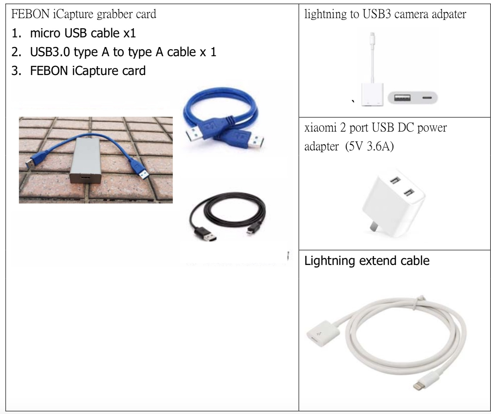 iPhone (iOS) use USB hdmi grabber card with live stream
