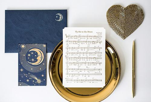 月亮女神|表白婚禮誓词愛情卡
