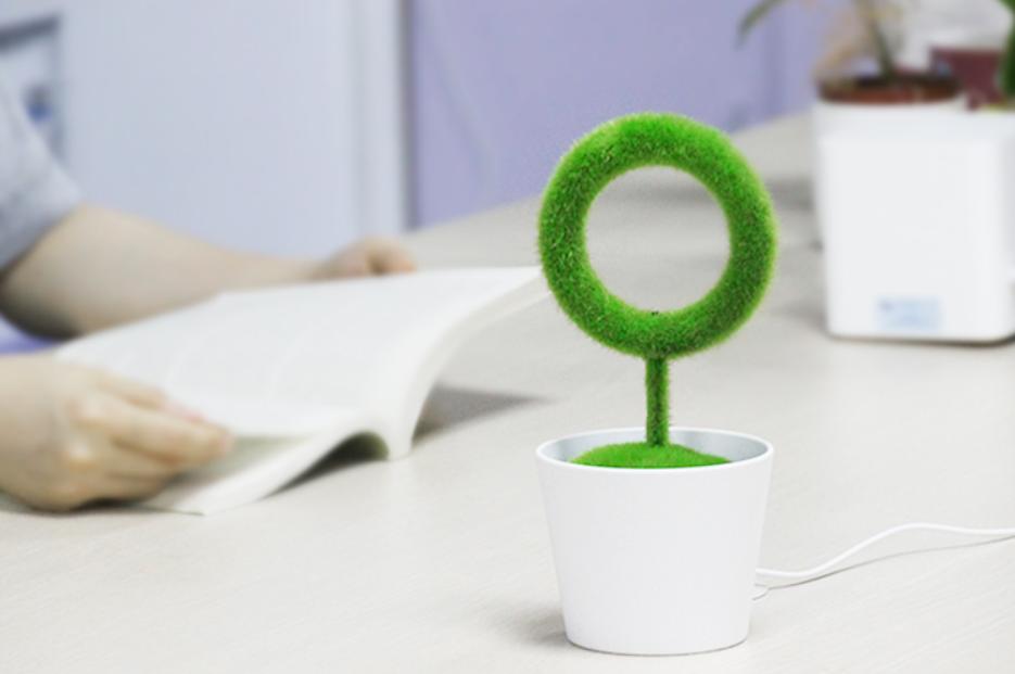 零耗材USB桌面綠植空氣清淨機