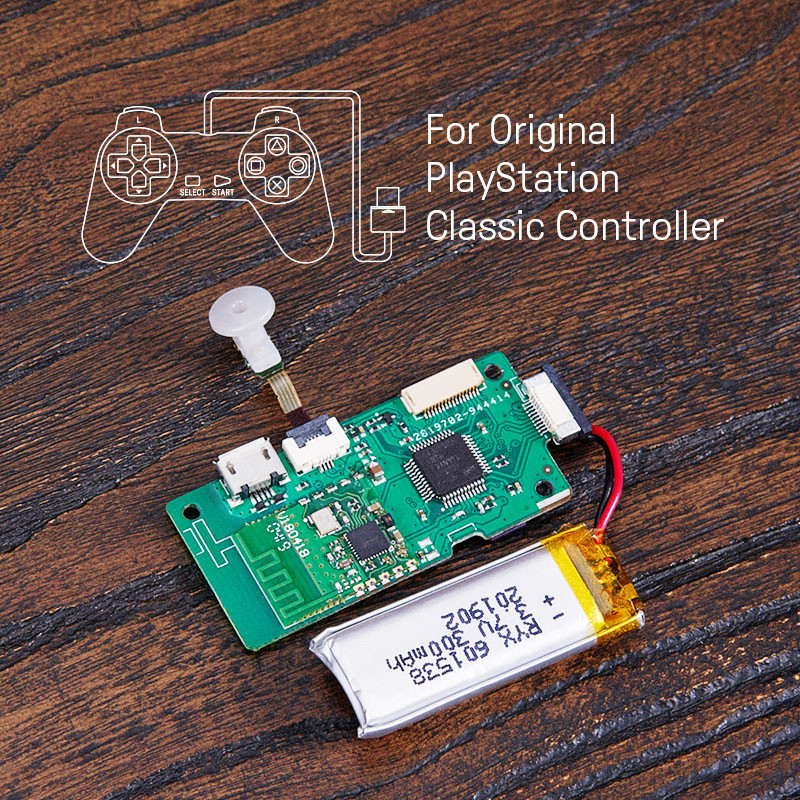 8BitDo Mod Kit for Original PlayStation Class Controlle