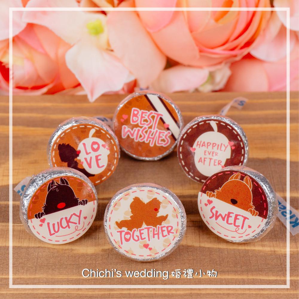 婚禮週邊-奇奇蒂蒂造型水滴巧克力