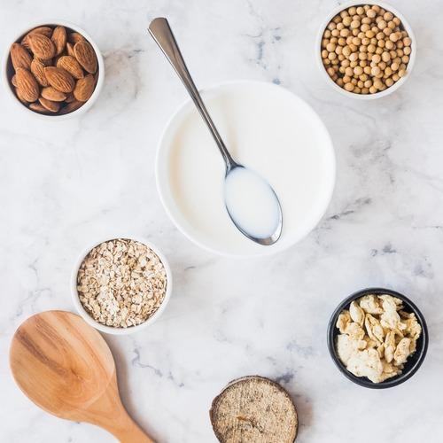 富含植物性蛋白質的堅果、穀物-2