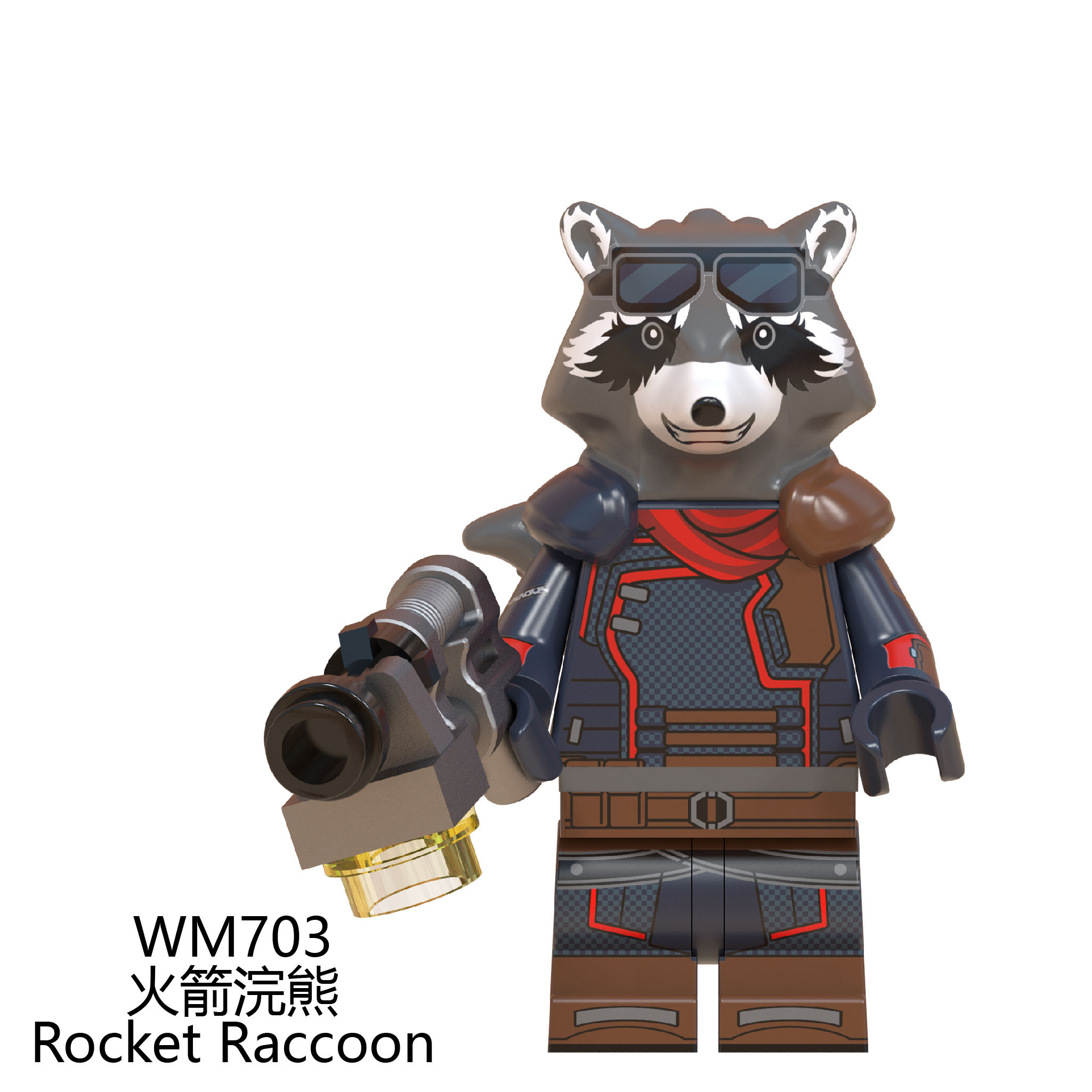 Rocket Raccoon Mini figure Avengers Endgame