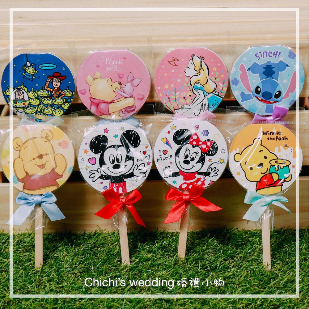 婚禮週邊-迪士尼實用婚禮小物-棒棒糖便條紙