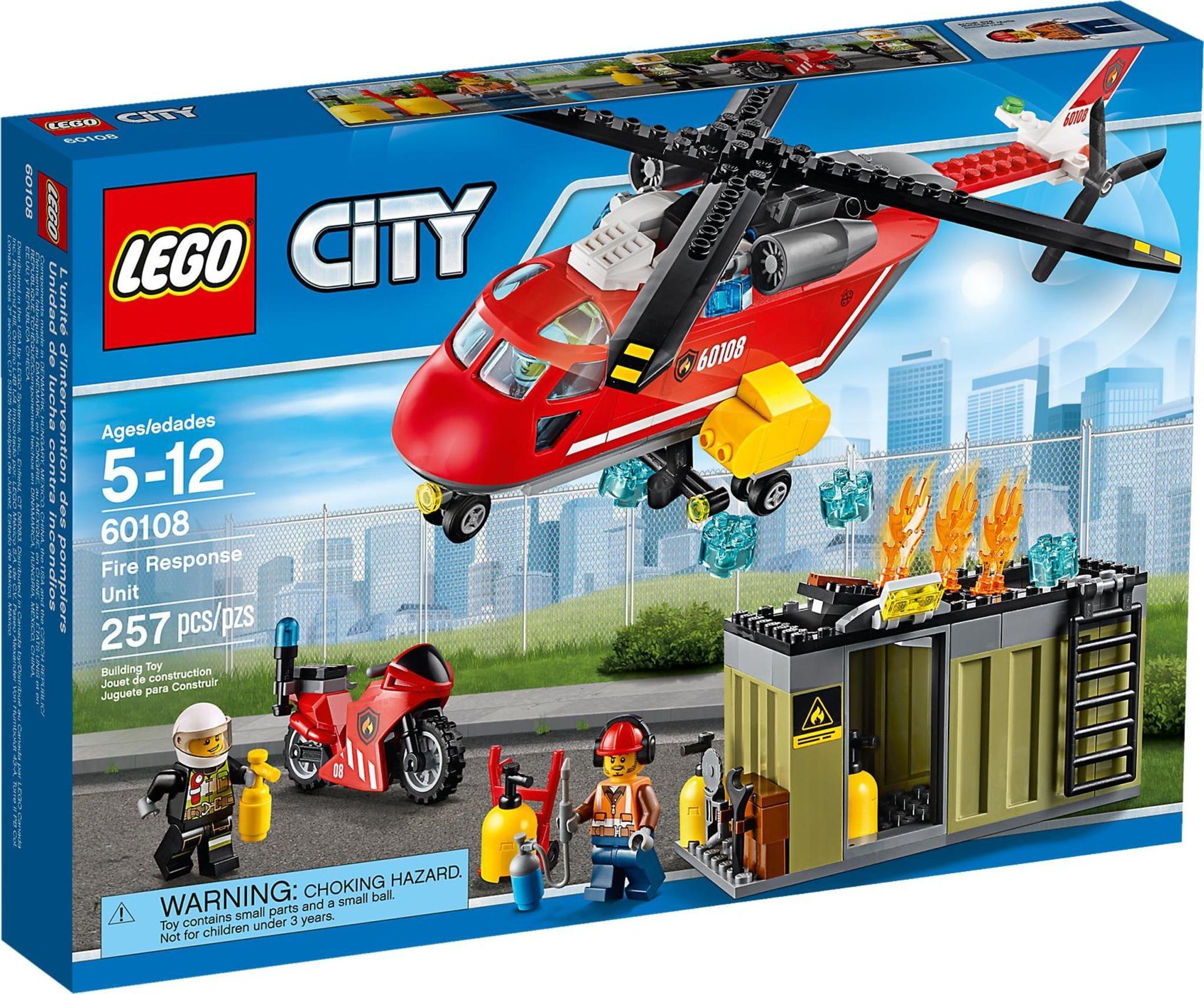 LEGO 60108 City - Fire Response Unit
