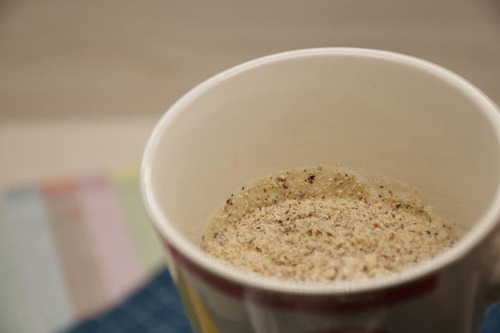有其田三色藜麥粉加入豆漿示意圖-2