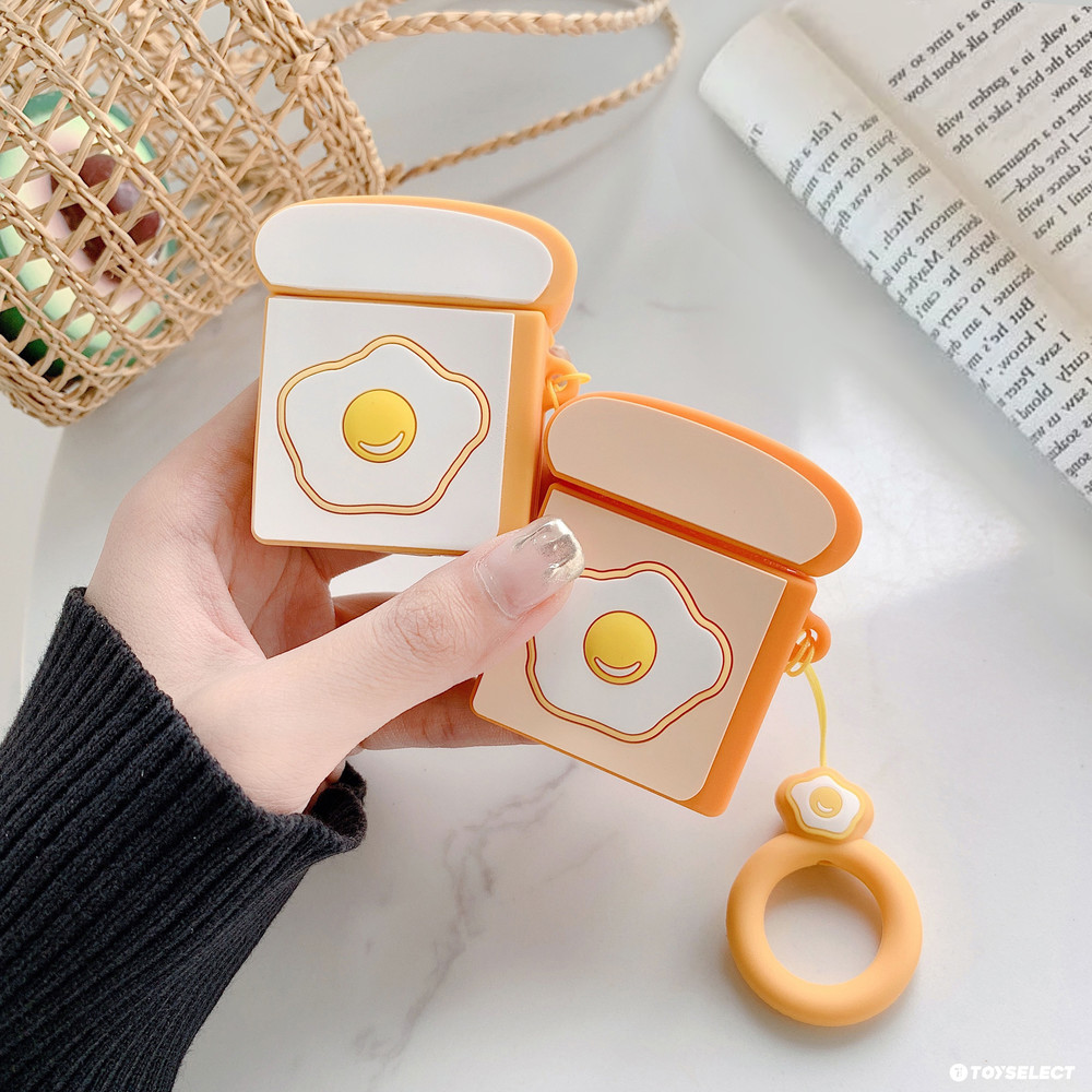 【AIRPODS】荷包蛋早午餐airpods保護套