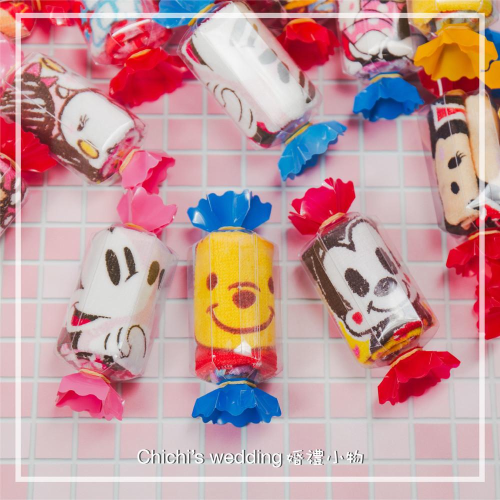 婚禮週邊-婚禮糖果造型卡通毛巾