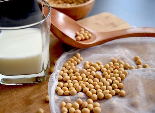 黃豆製成的豆漿
