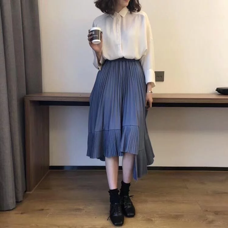 時尚穿搭-百褶裙