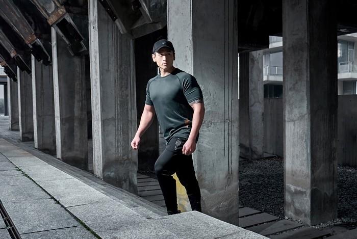 腿粗的人買運動長褲推薦Evolete!Omni系列尼龍高彈性、抗撕裂|Evolete Apparel