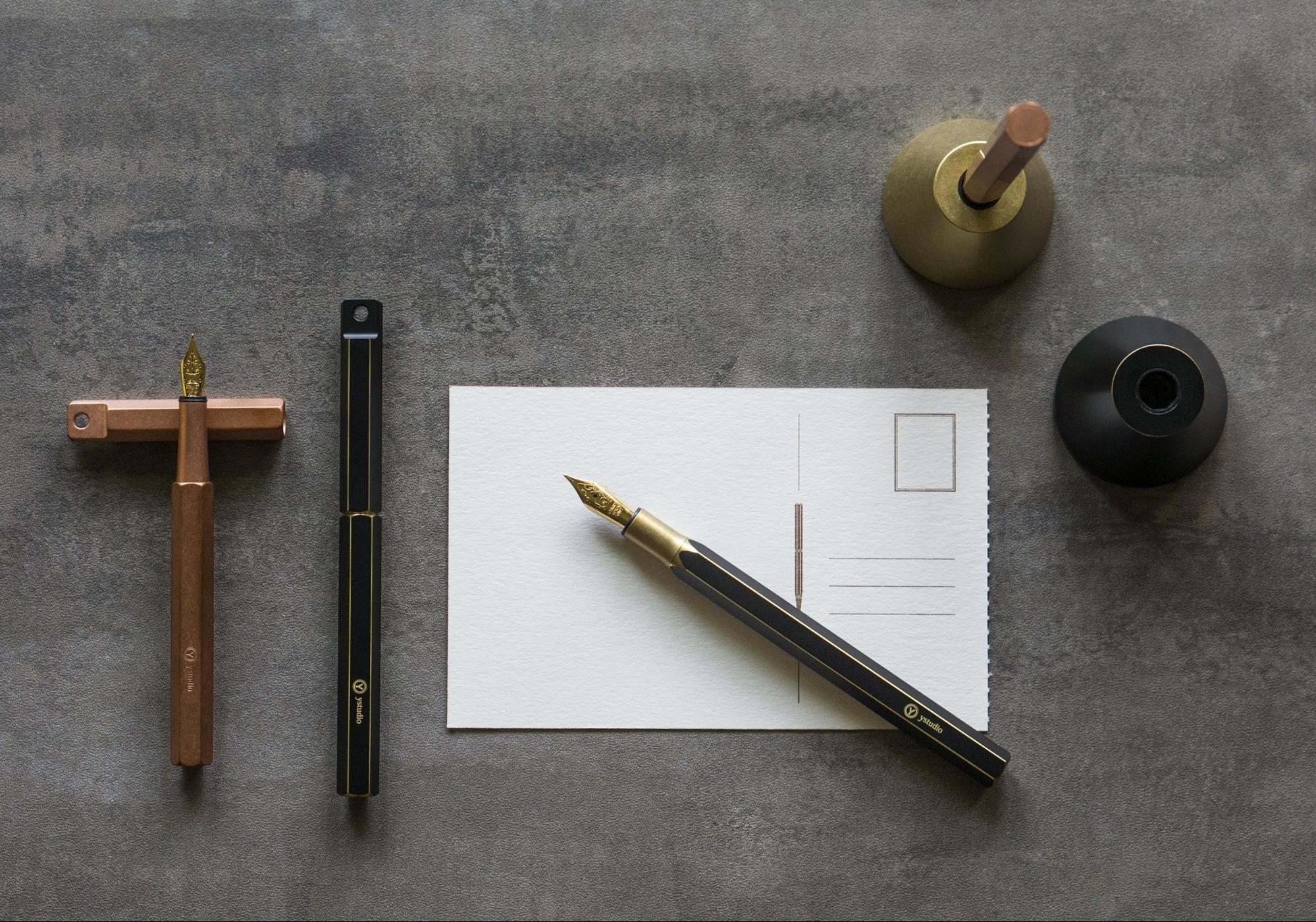 鋼筆握法教學