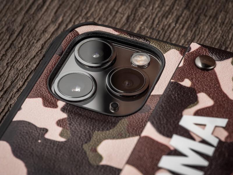 Skinarma|iPhone 11 / Pro / Pro Max 迷彩系列 腕帶支架軍規防摔殼