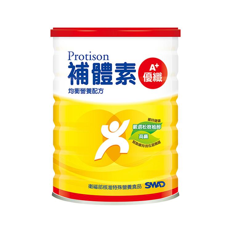 補體素 優纖A+ 均衡營養配方 (粉狀) 900公克