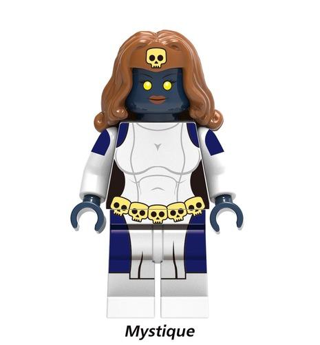 Mystique Marvel X-Men Superhero Minifigure Fits Lego US SELLER