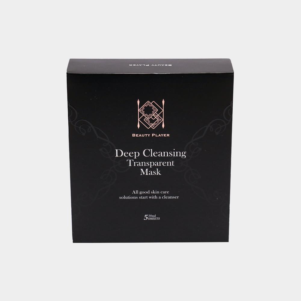 Beauty player 極透淨膚清潔面膜 1盒