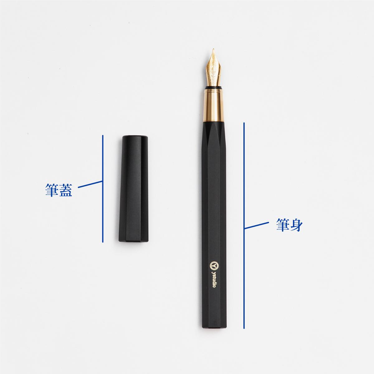 鋼筆構造:筆蓋