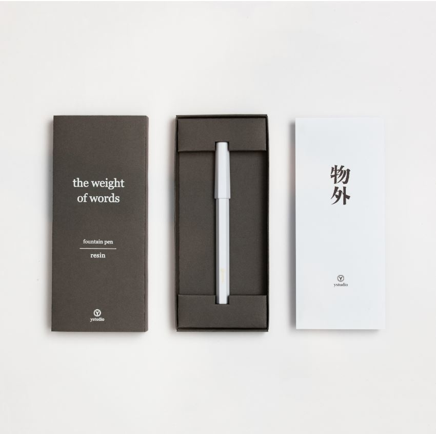 送長官禮物:鋼筆手寫卡片