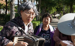 安可人生 採訪報導 穿越照相館 社區營造 青銀共創 桃園 城市美學 城市水文