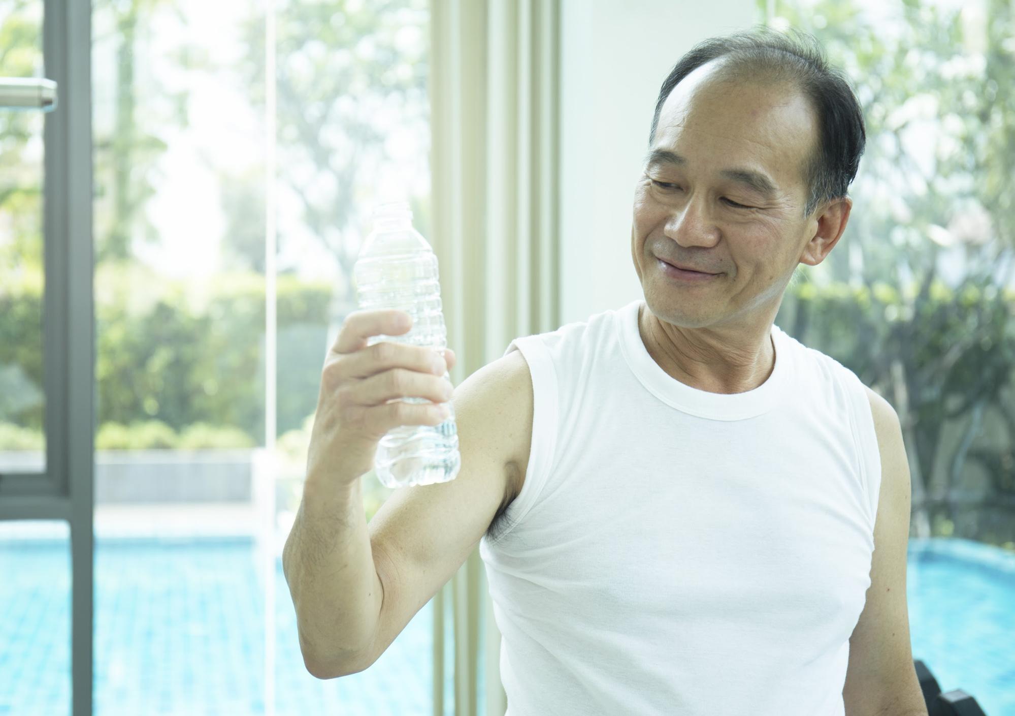 運動後喝水