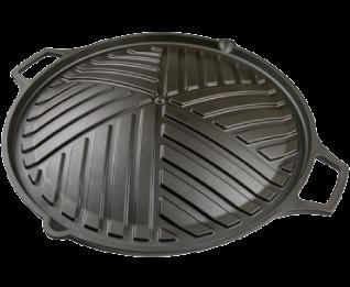 大古鐵器-鑄鐵燒烤鍋( 30cm)