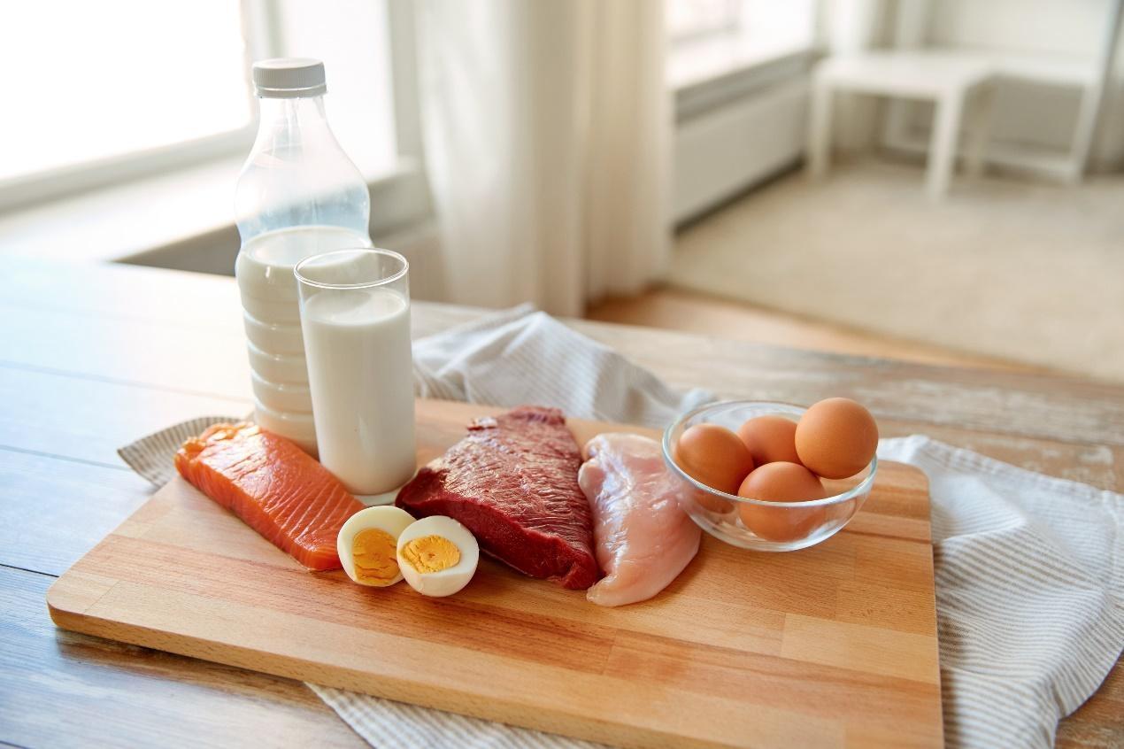 缺乏蛋白質可以補充的食物