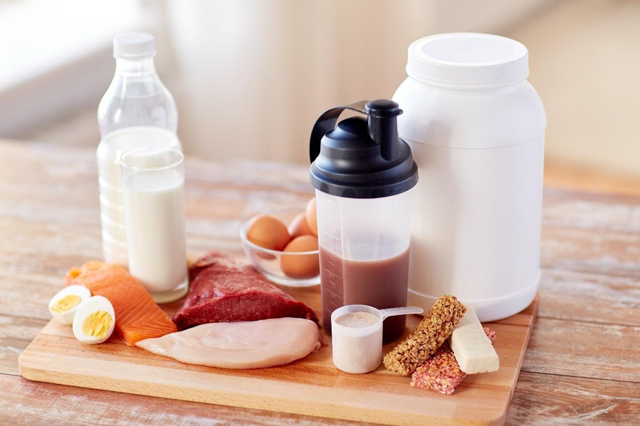 蛋白質攝取食物:高蛋白粉
